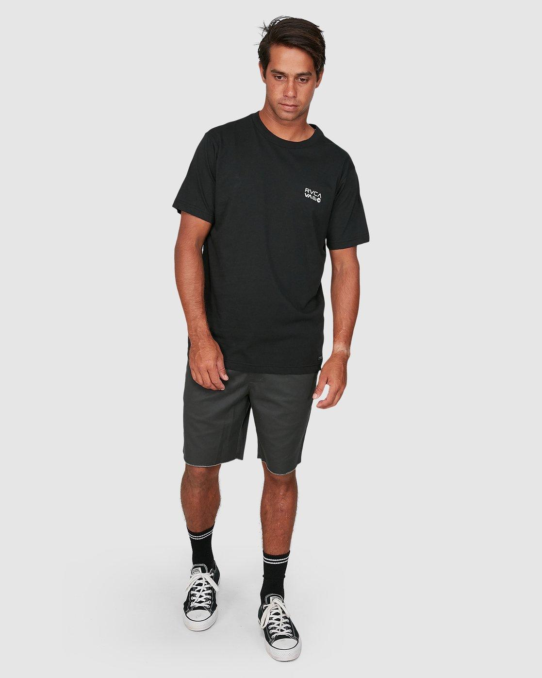 5 Anp Knockout Velia Short Sleeve Tee Black R106055 RVCA