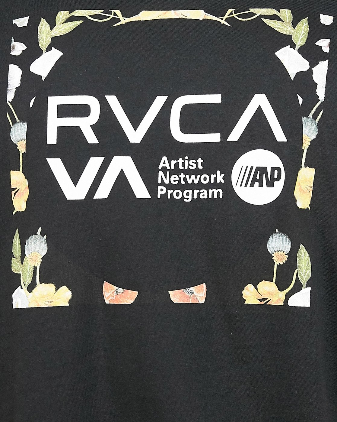4 Anp Knockout Velia Short Sleeve Tee Black R106055 RVCA