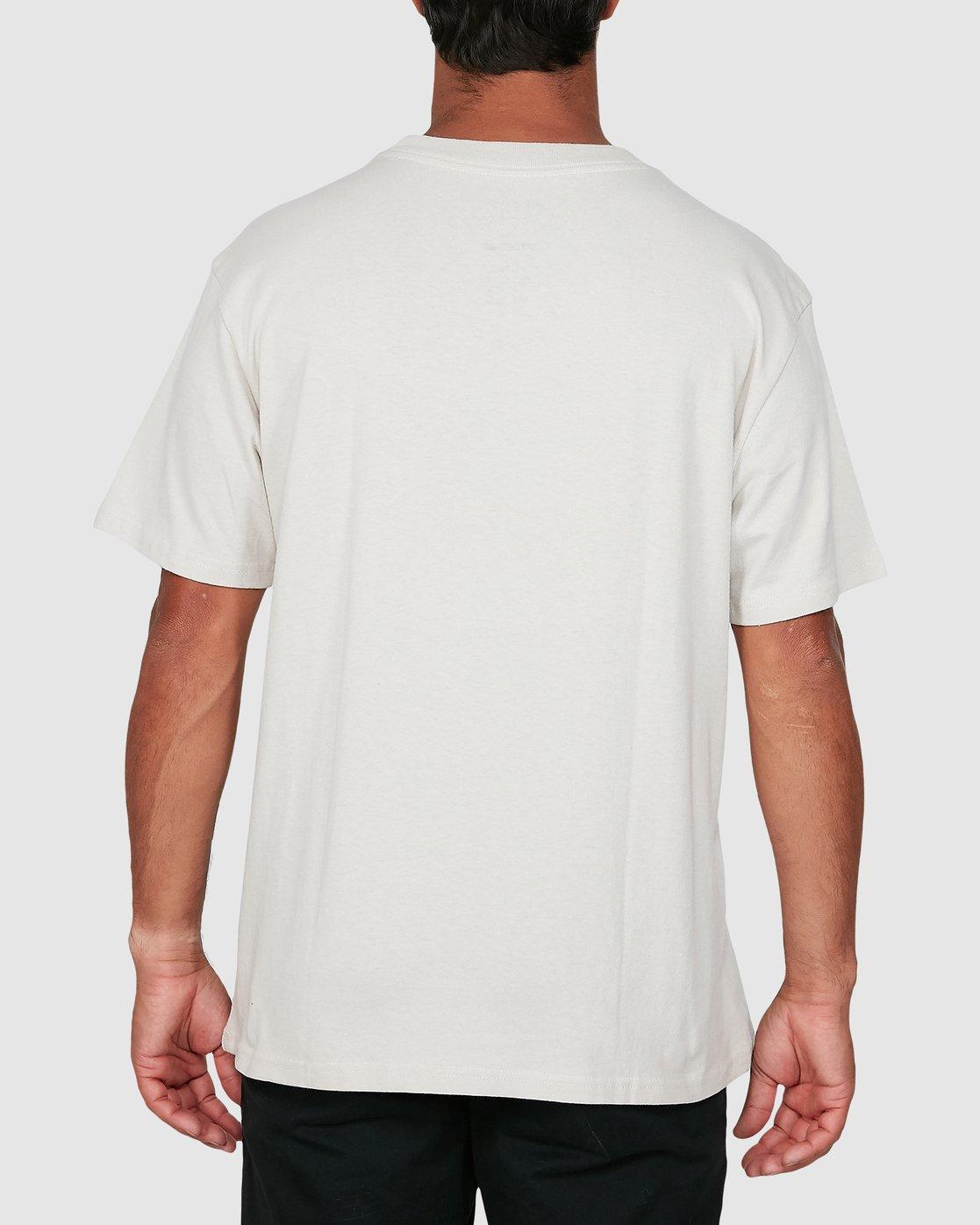2 Ransom Short Sleeve Tee Beige R106069 RVCA