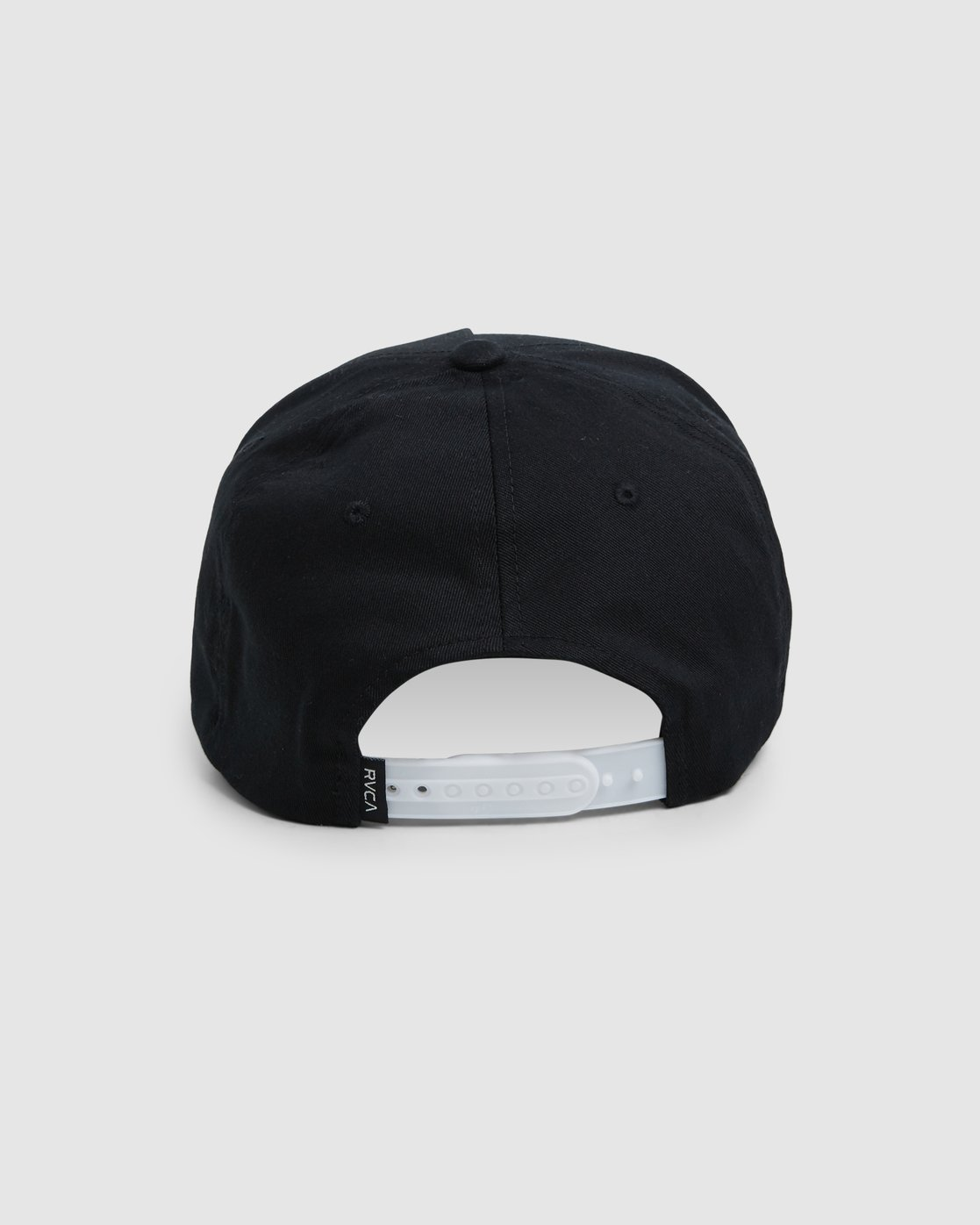 2 Rvca Shadow Pinched Trucker Cap Black R106564 RVCA