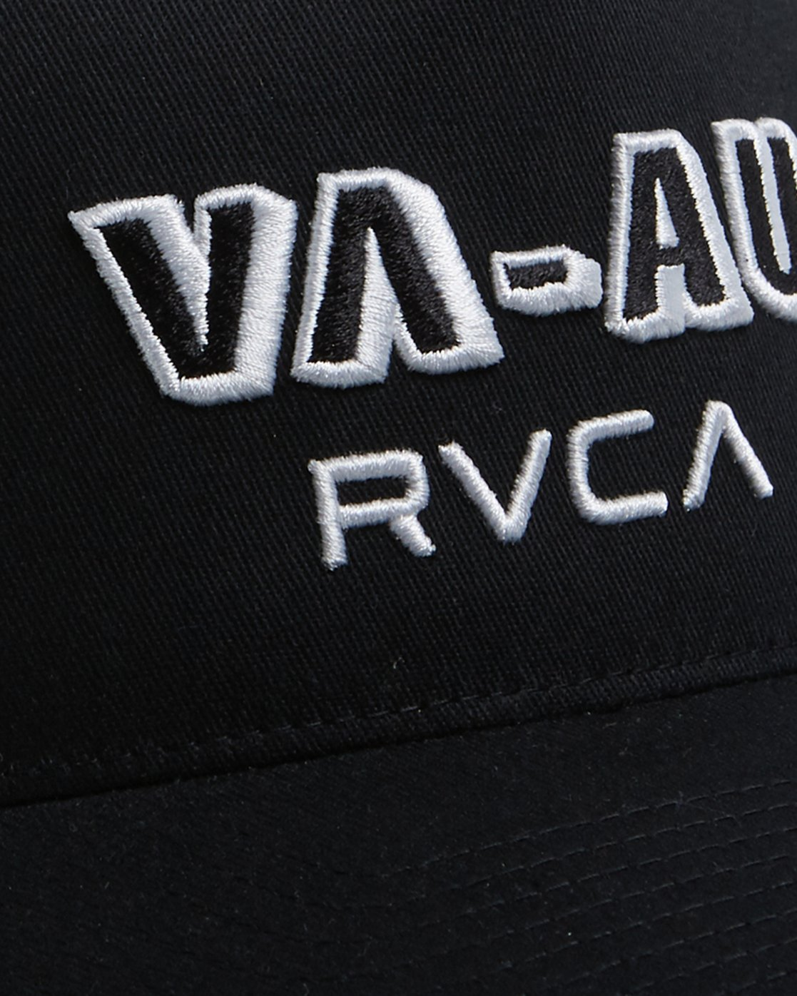 3 Rvca Shadow Pinched Trucker Cap Black R106564 RVCA