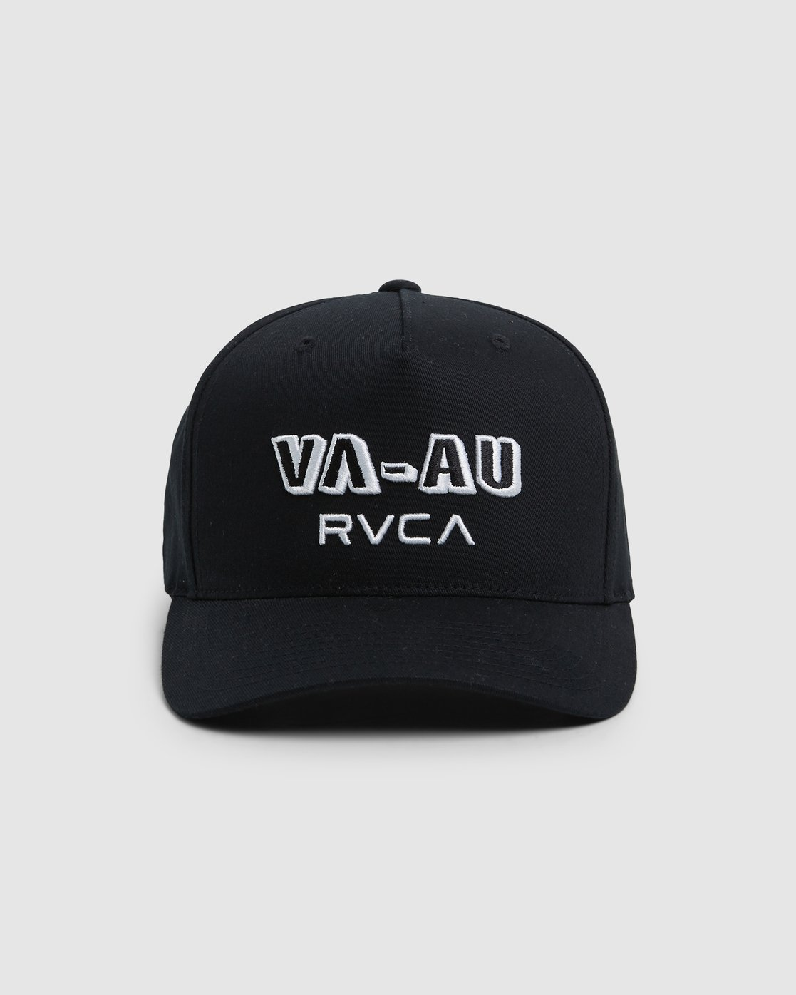 1 Rvca Shadow Pinched Trucker Cap Black R106564 RVCA