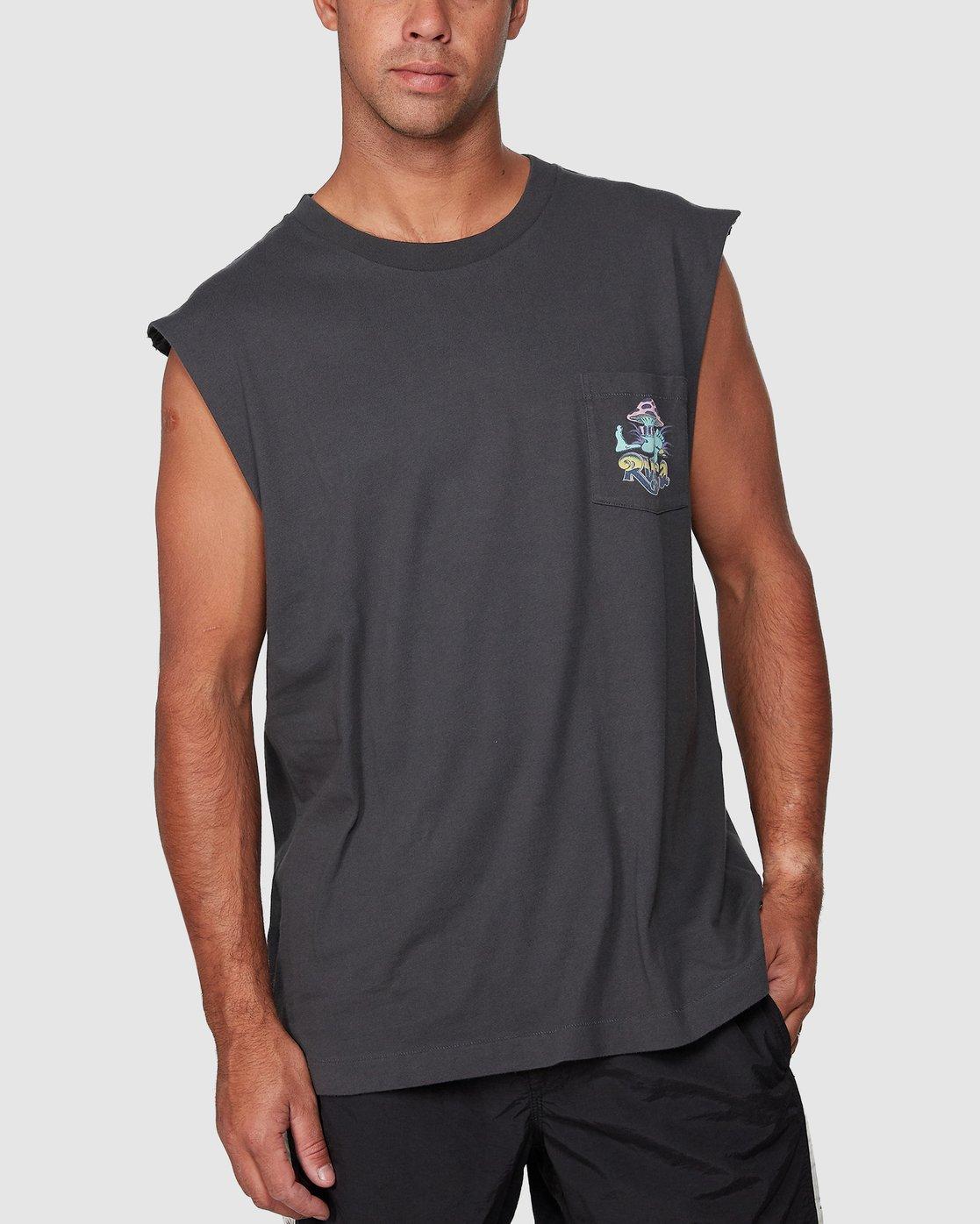 0 Mushie Kid Pocket Muscle  R107004 RVCA