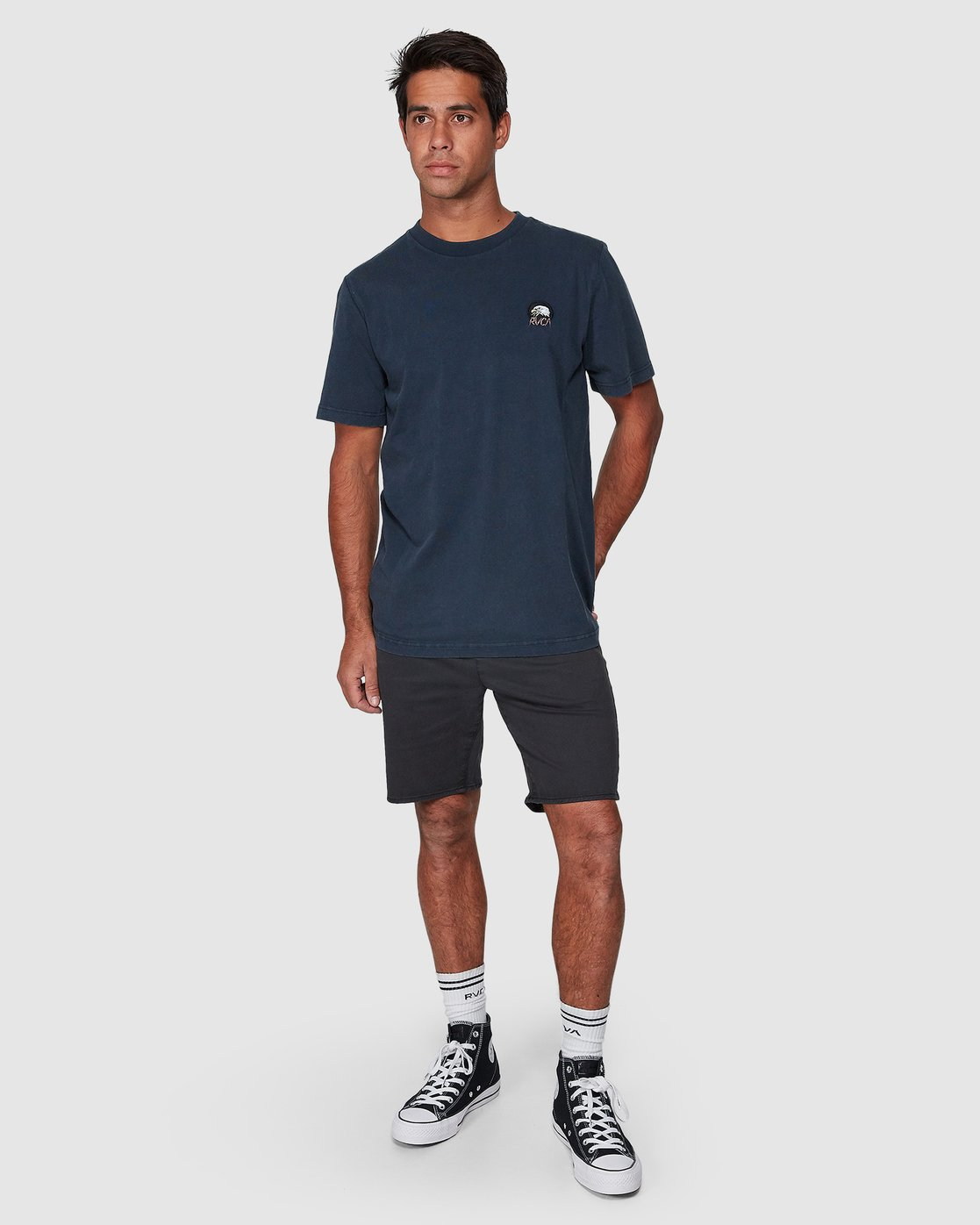 5 Screamin Eagle Short Sleeve Tee  R107043 RVCA