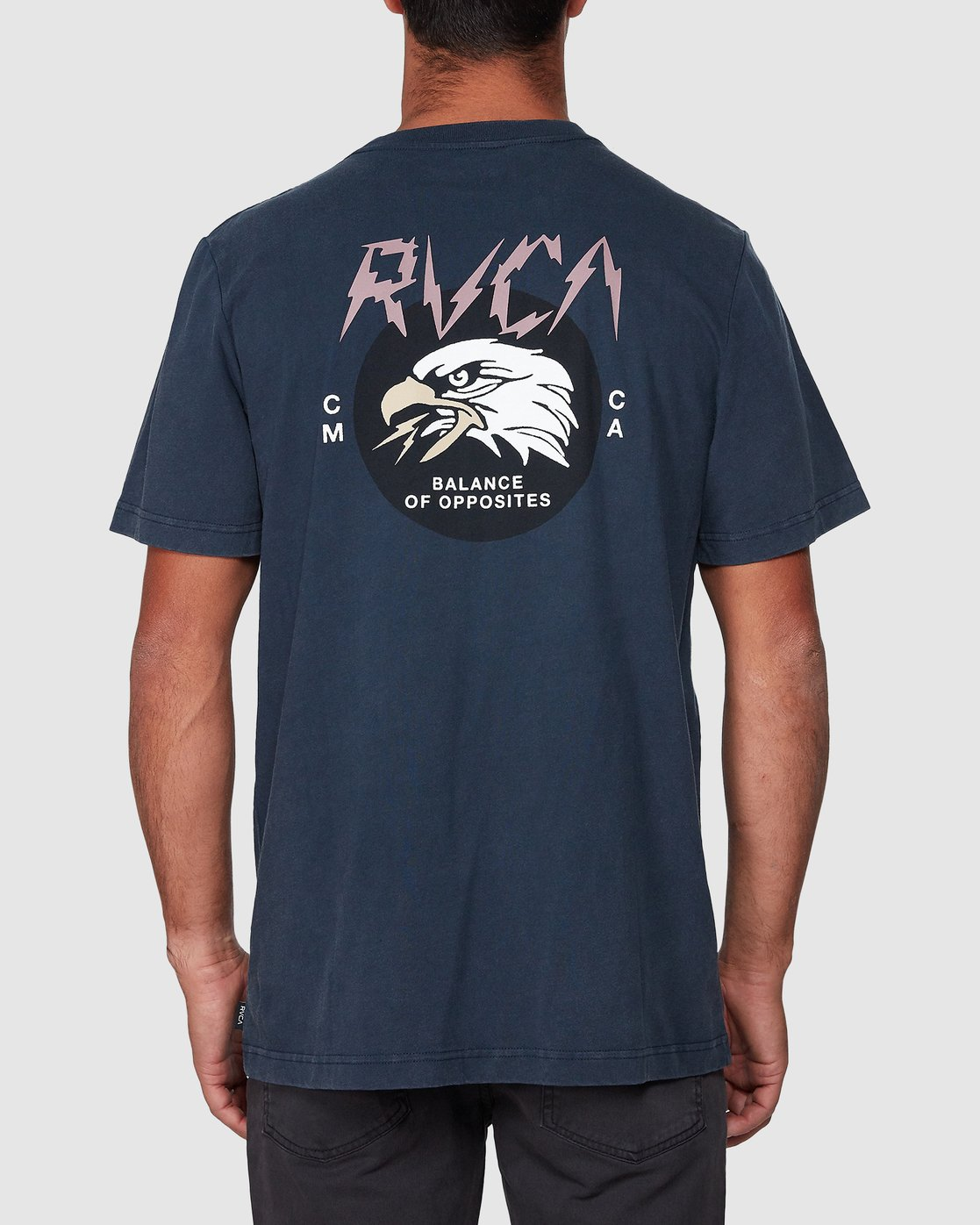 3 Screamin Eagle Short Sleeve Tee  R107043 RVCA