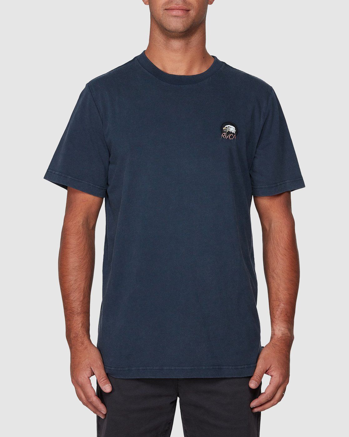 1 Screamin Eagle Short Sleeve Tee  R107043 RVCA