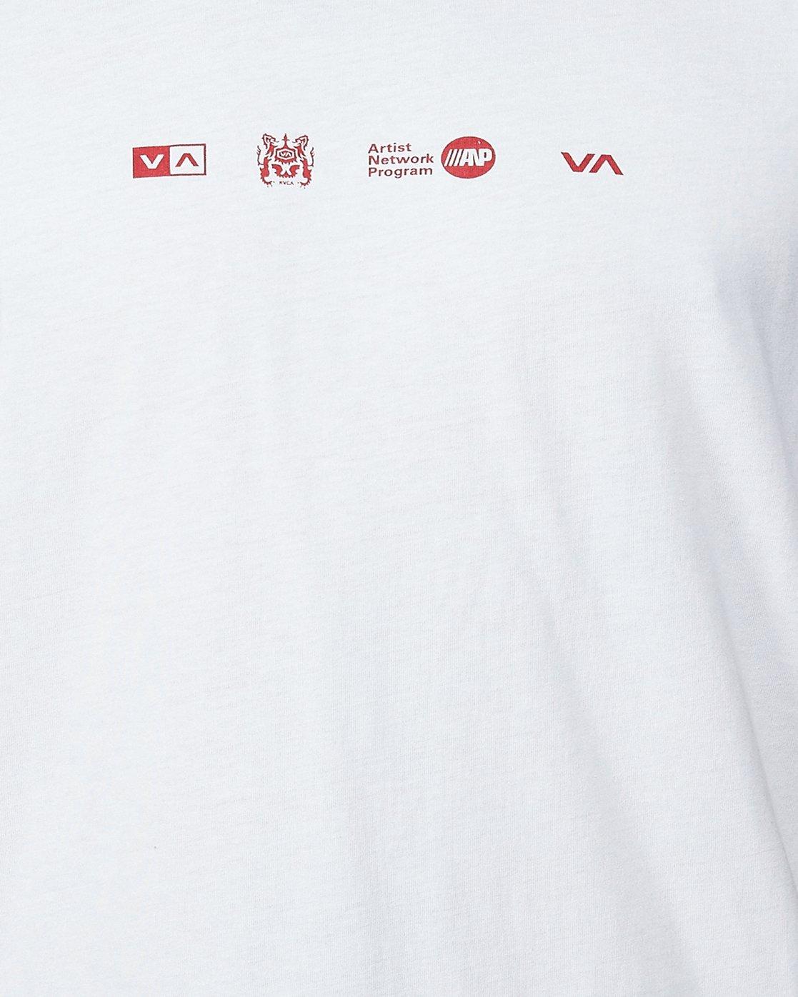 4 All Brand Short Sleeve Tee  R107049 RVCA