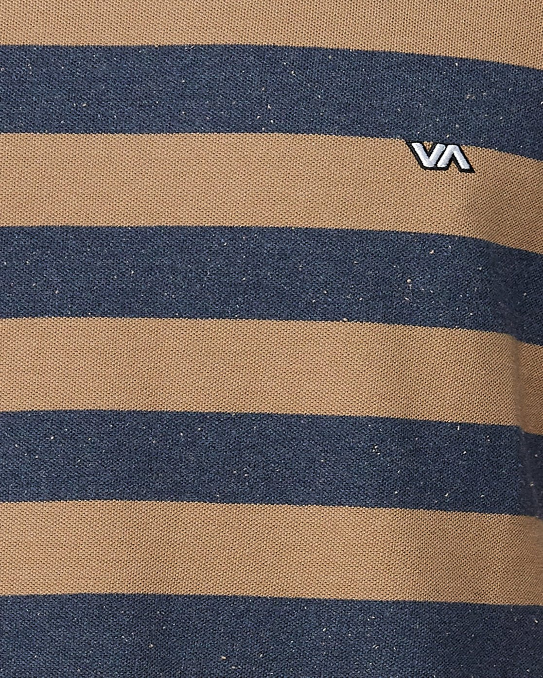 4 Shallow End Stripe Short Sleeve Tee Blue R107063 RVCA