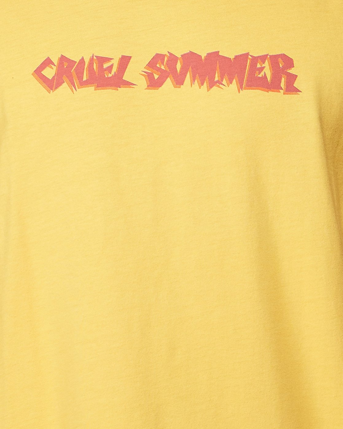 4 Cruel Summer Short Sleeve Tee  R107064 RVCA