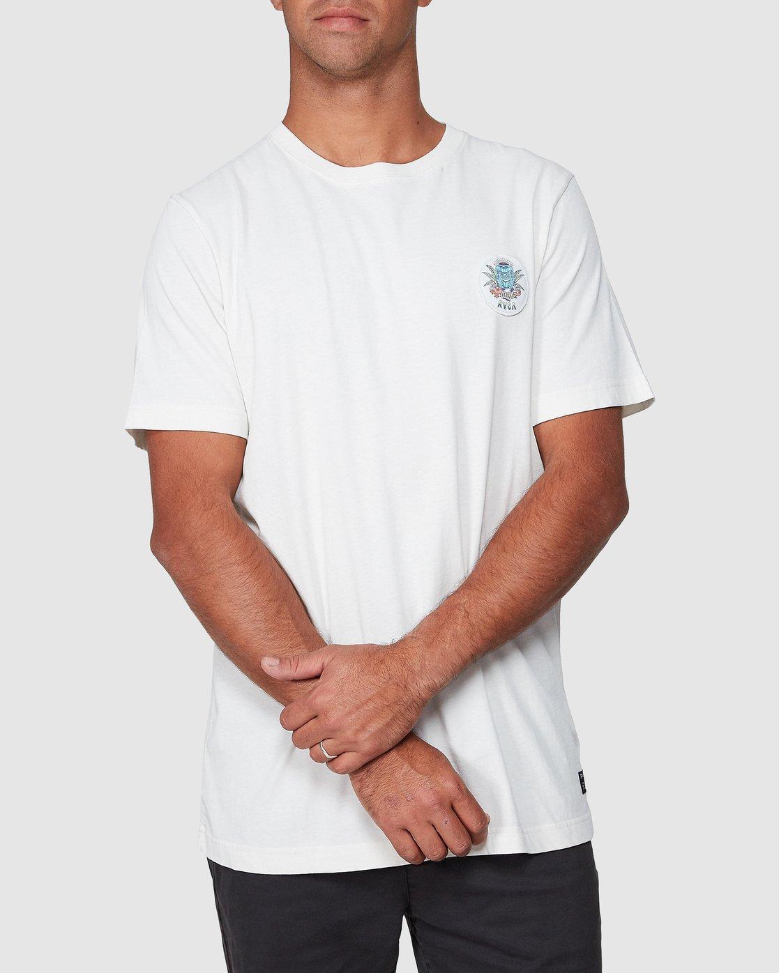0 DMOTE Aloha Short Sleeve Tee  R107065 RVCA