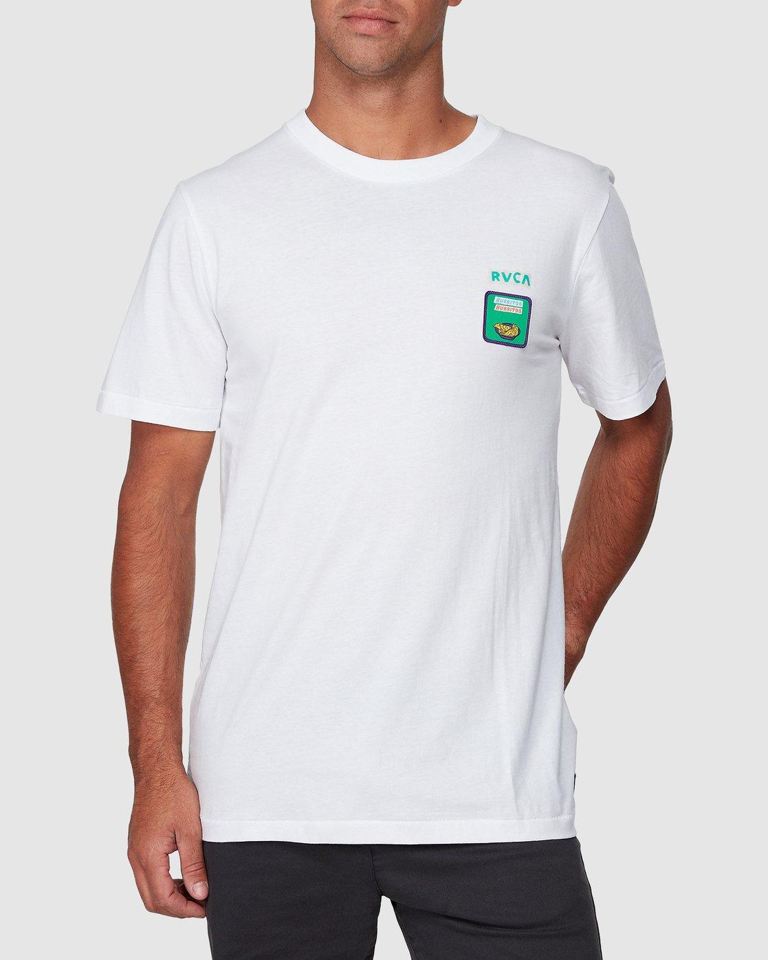 1 Hot Fudge Short Sleeve Tee  R107069 RVCA