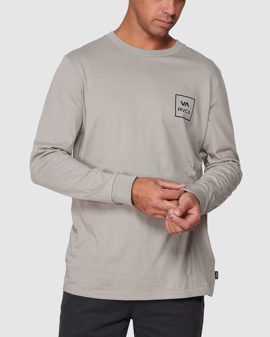0 VA All The Ways Long Sleeve Tee  R107091 RVCA