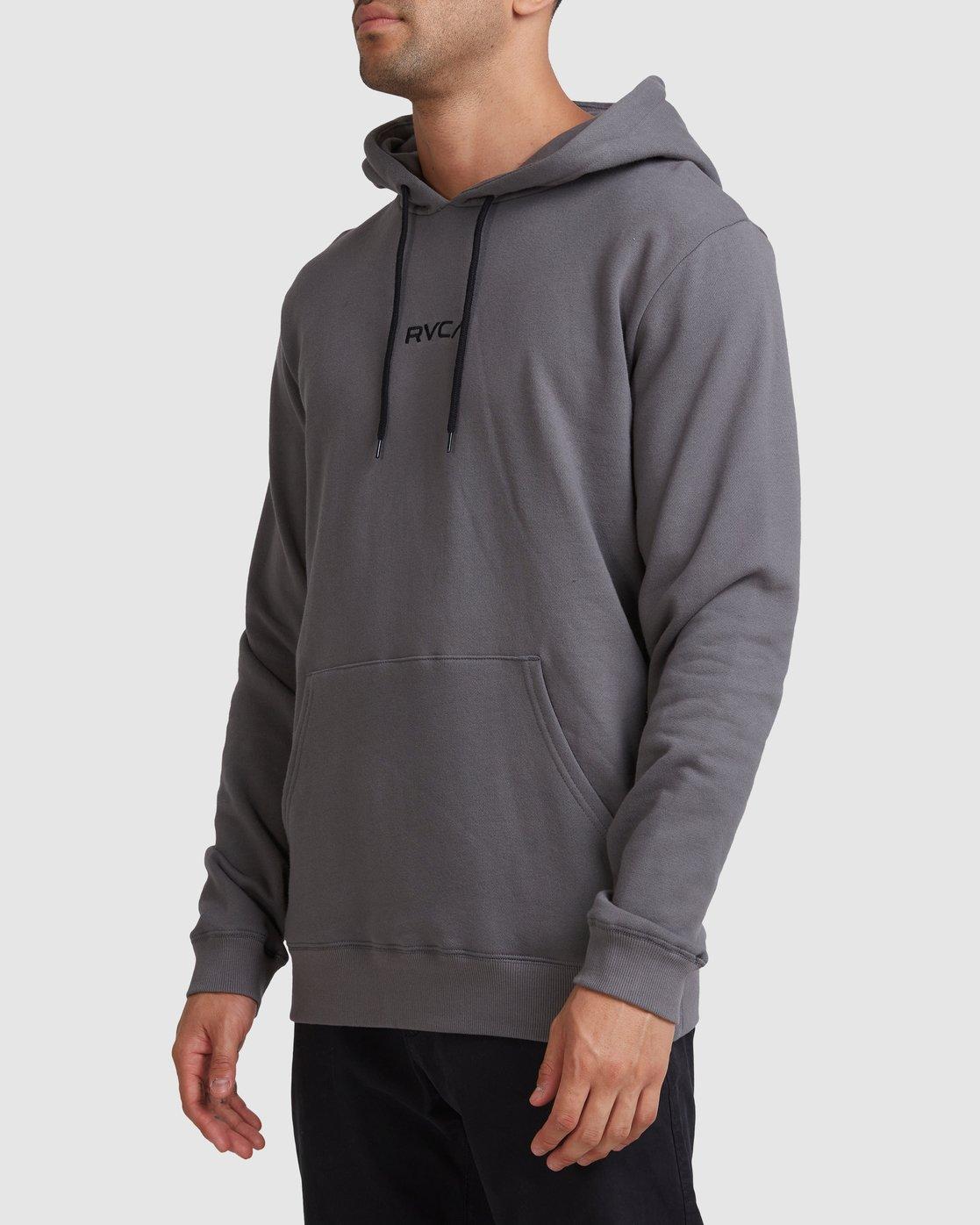1 Shi Boo Ya Pullover Grey R107156 RVCA