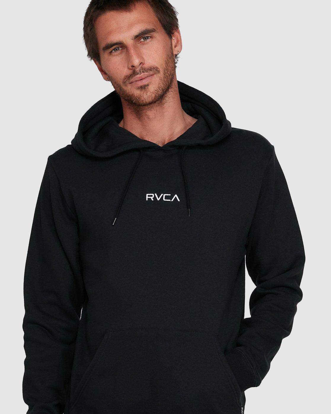 8 Shi Boo Ya Pullover Black R107156 RVCA