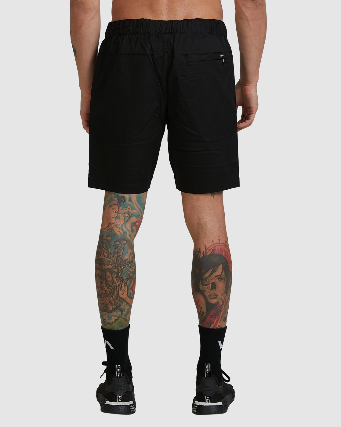 3 SPECTRUM SHORTS Black R107311 RVCA