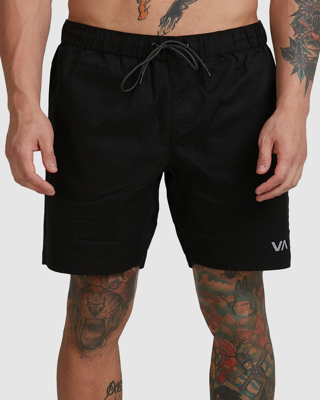 2 SPECTRUM SHORTS Black R107311 RVCA