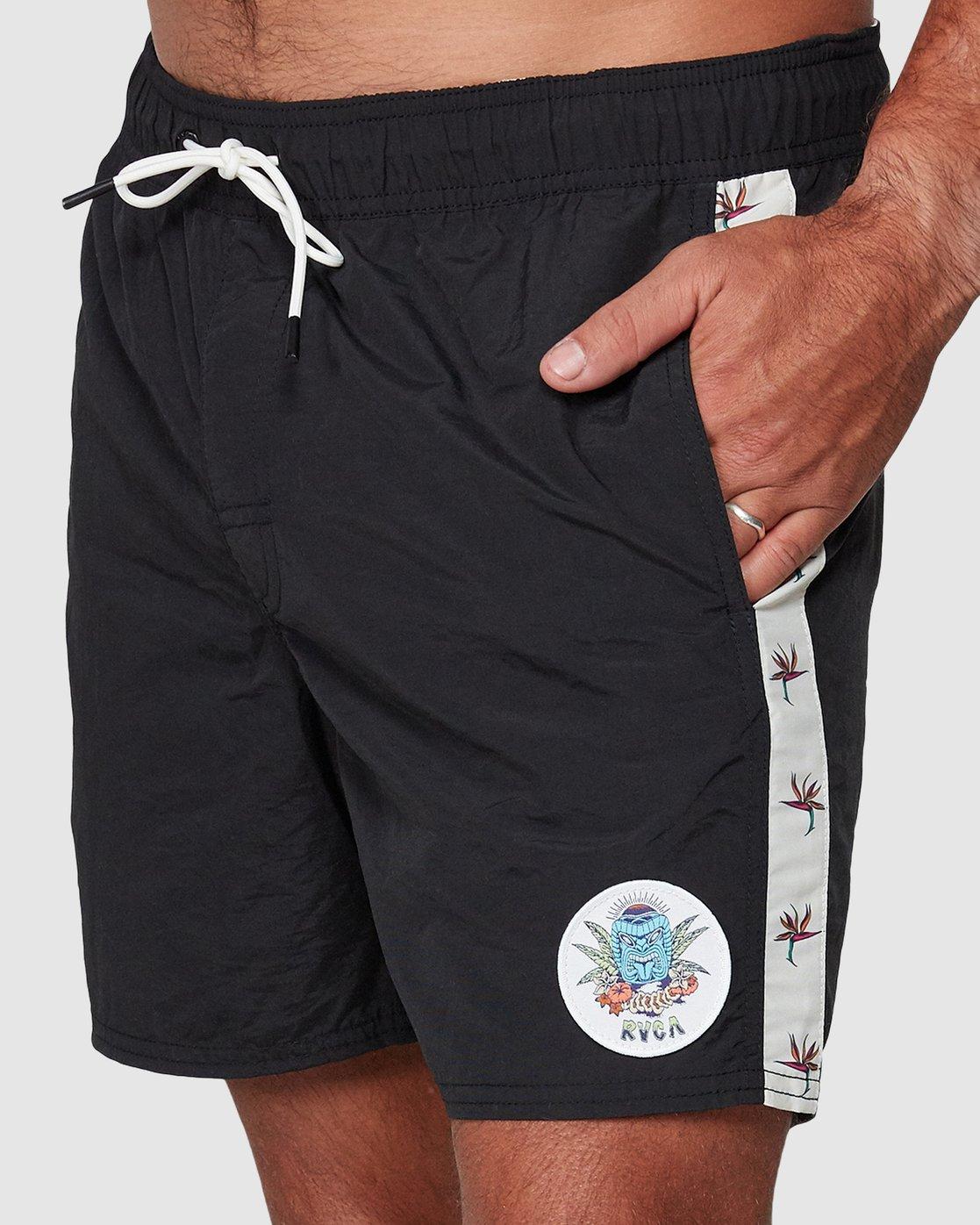 8 DMOTE Aloha Elastic Boardshorts  R107400 RVCA