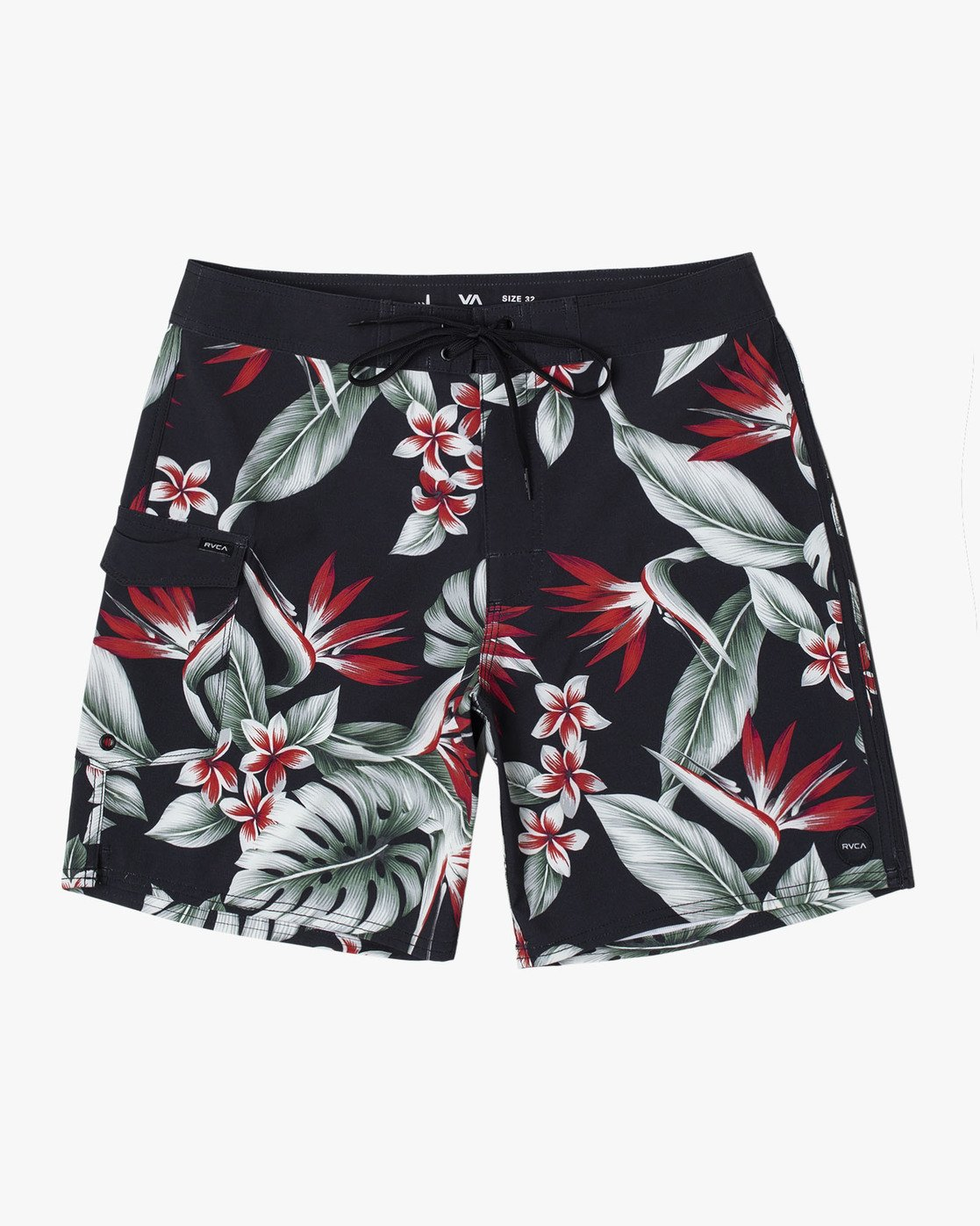 3 Splender Trunks Black R107401 RVCA