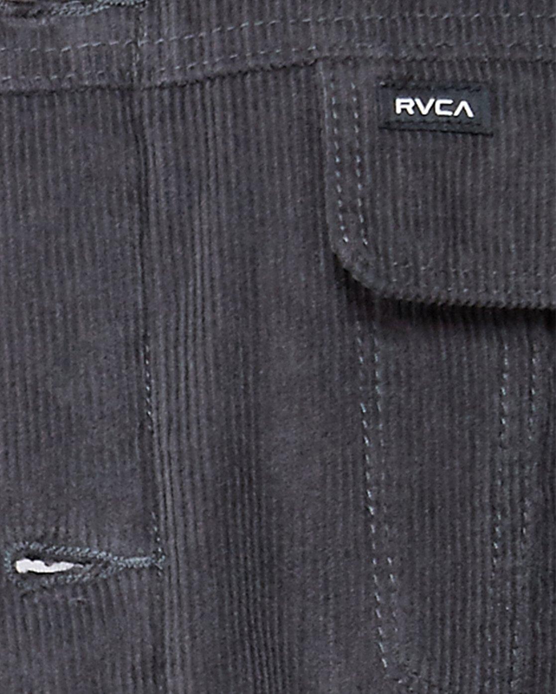 4 Daggers Cord Sherpa Jacket Grey R107433 RVCA