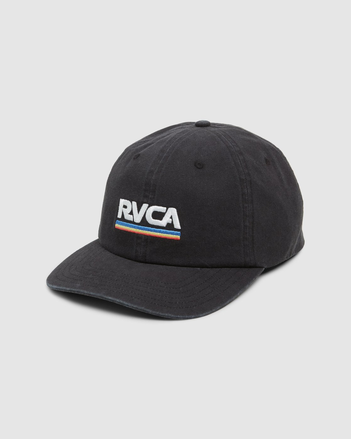 0 Attacker Snapback Cap Black R107565 RVCA