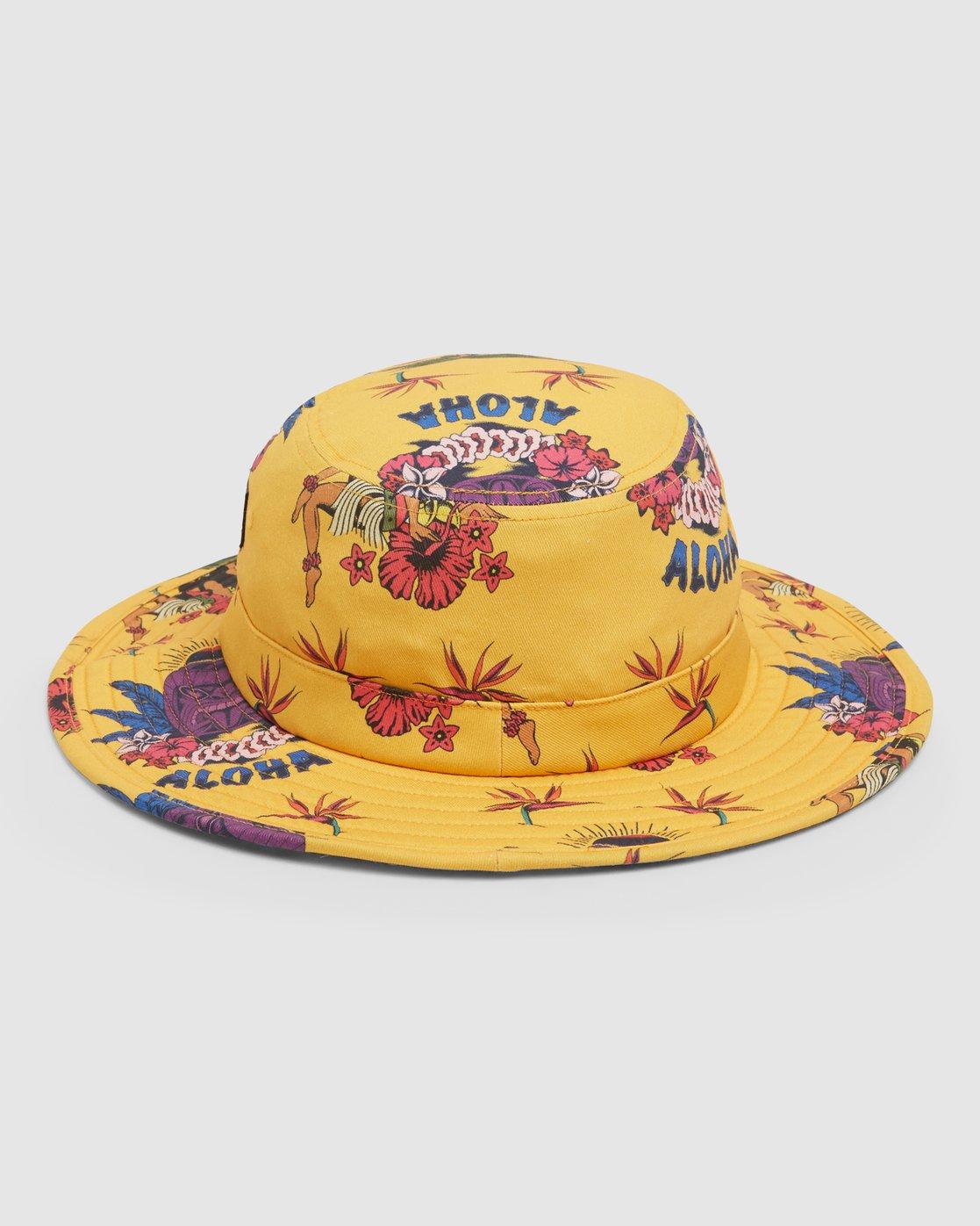2 DMOTE Aloha Bucket Hat  R107566 RVCA