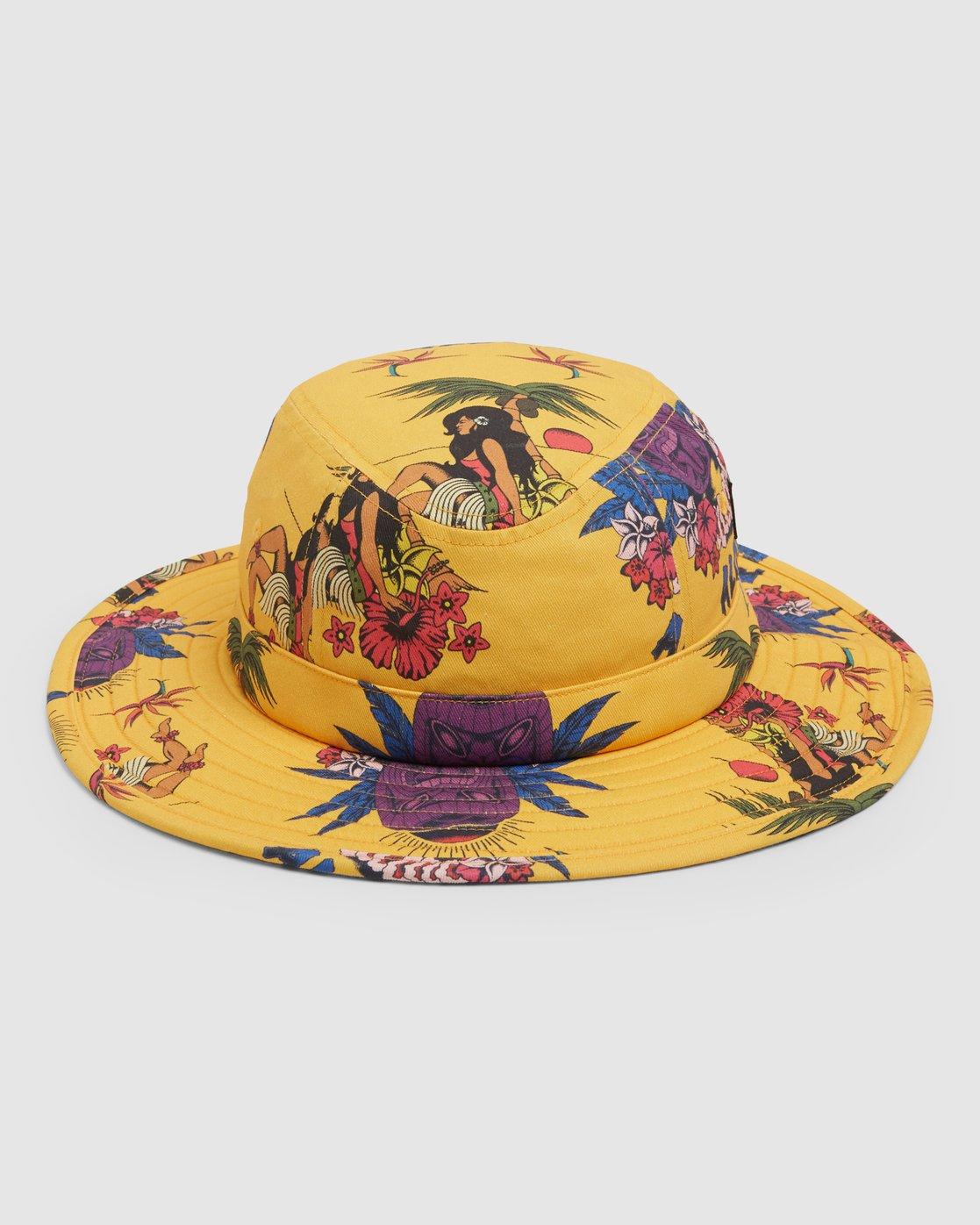 0 DMOTE Aloha Bucket Hat  R107566 RVCA