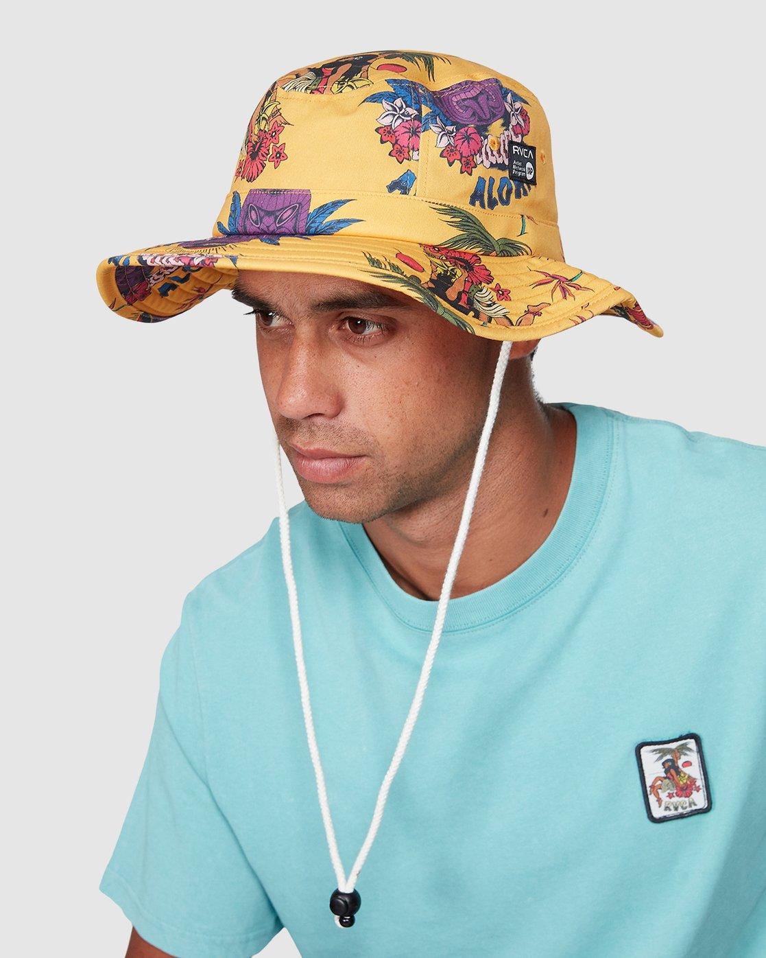 3 DMOTE Aloha Bucket Hat  R107566 RVCA