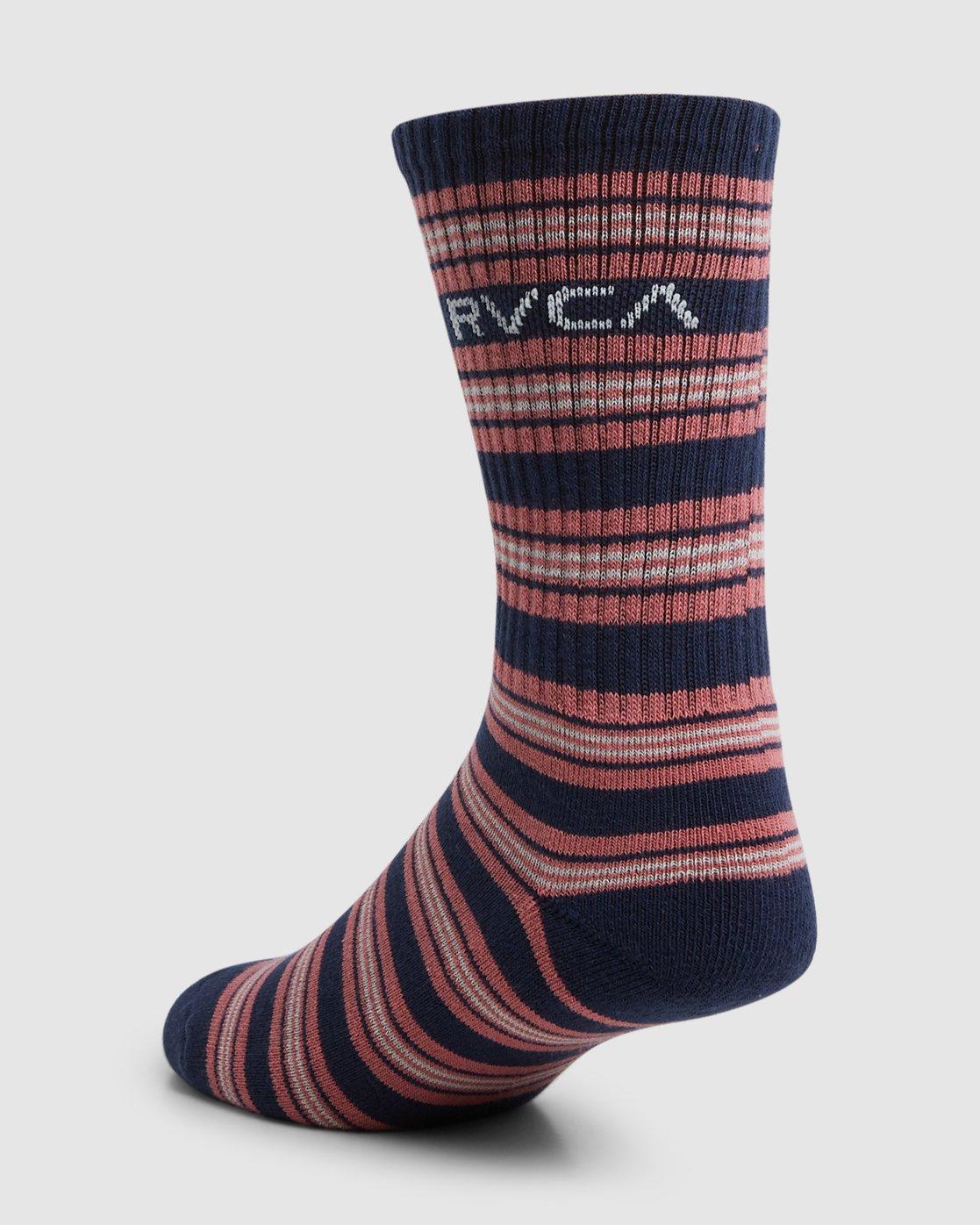 13 RVCA Multi Sock - 4 Pack  R107601 RVCA