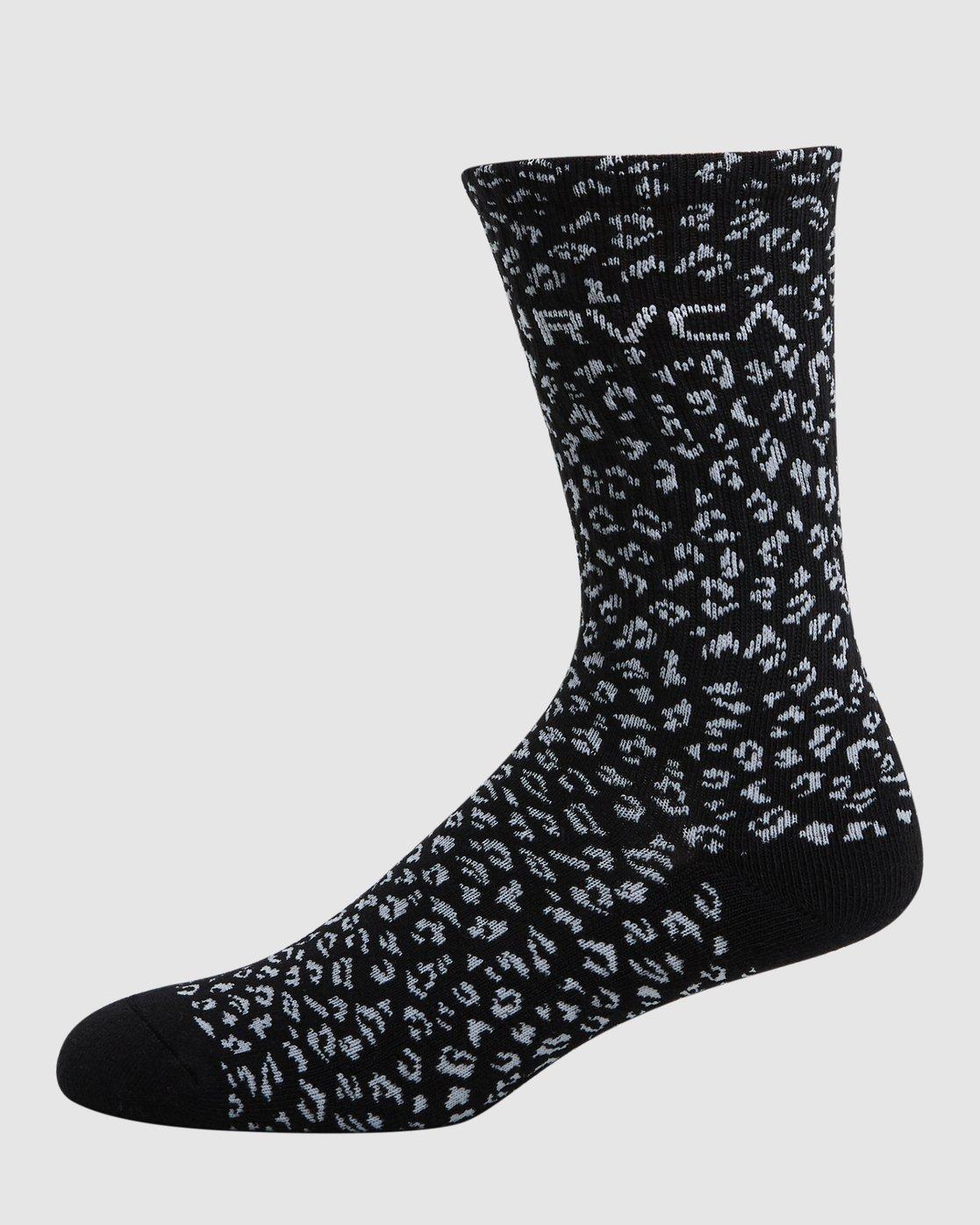3 RVCA Multi Sock - 4 Pack  R107601 RVCA