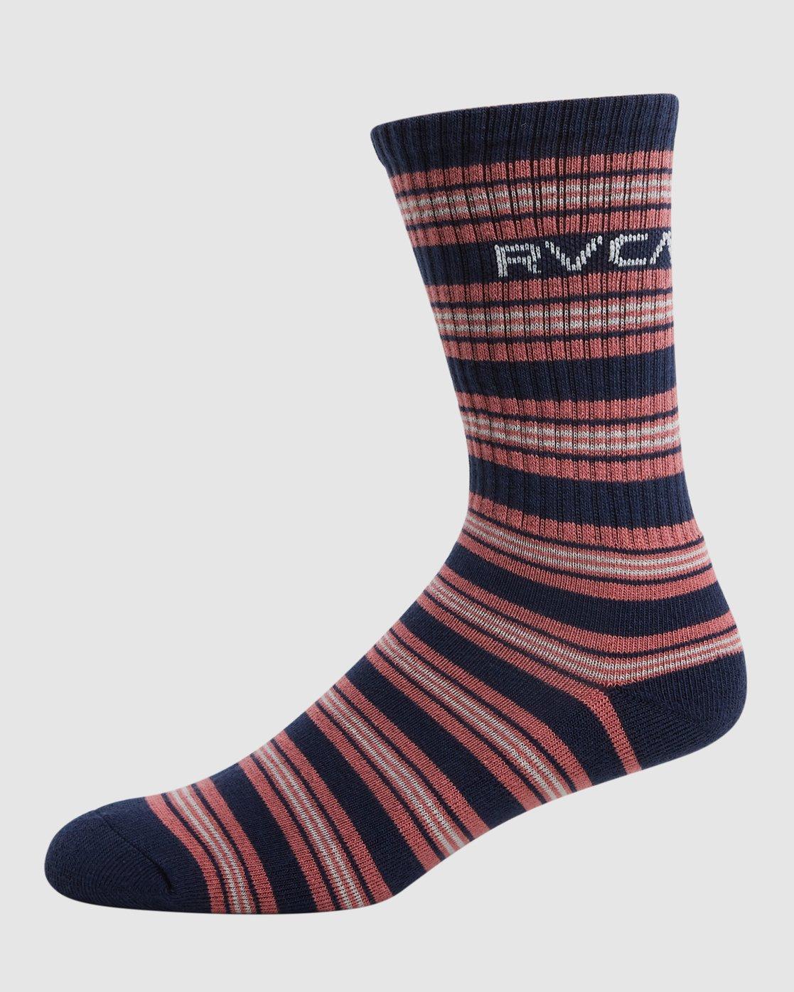 4 RVCA Multi Sock - 4 Pack  R107601 RVCA