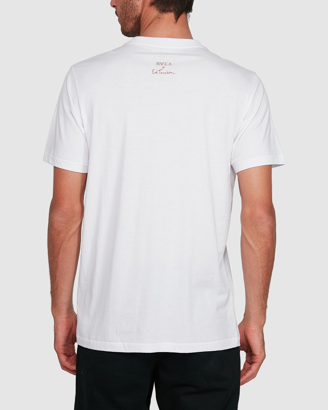 2 Ed Speak Short Sleeve Tee White R108041 RVCA