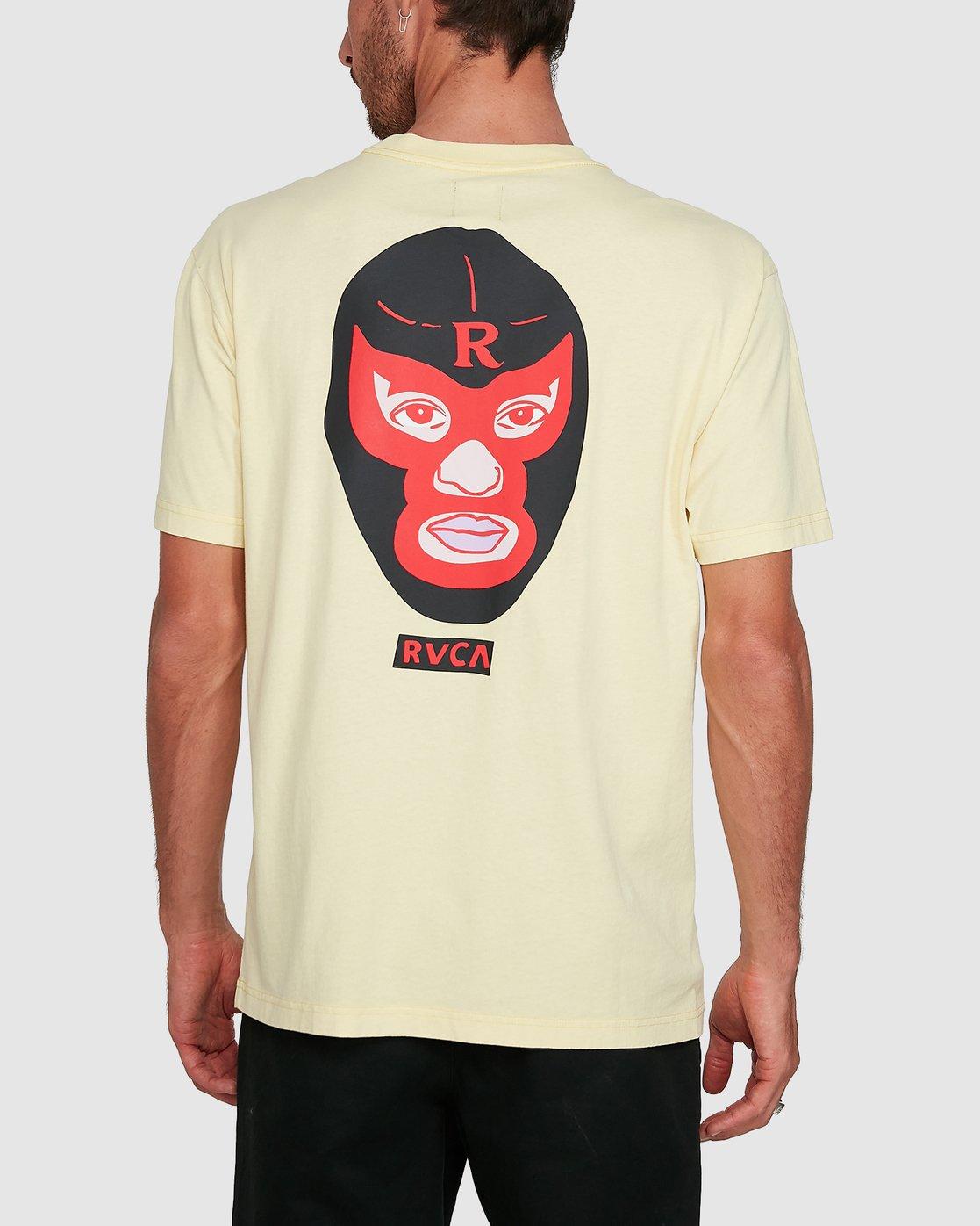 0 Luchador Short Sleeve Tee  R108044 RVCA
