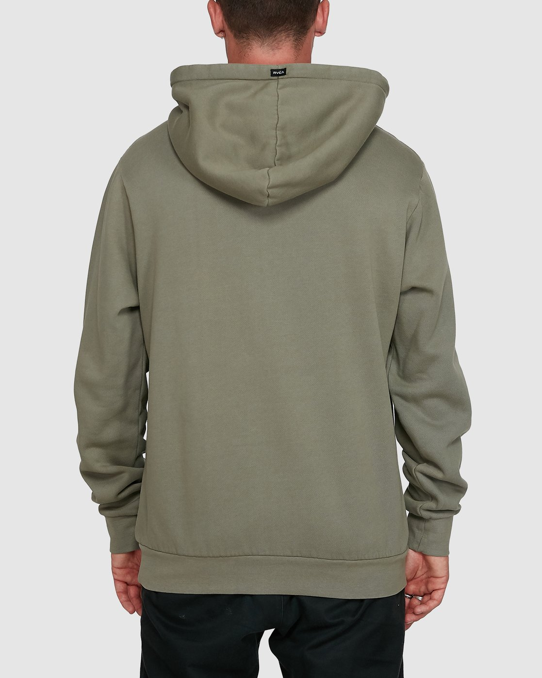 3 Rave Ball Pullover Hoodie Green R108153 RVCA