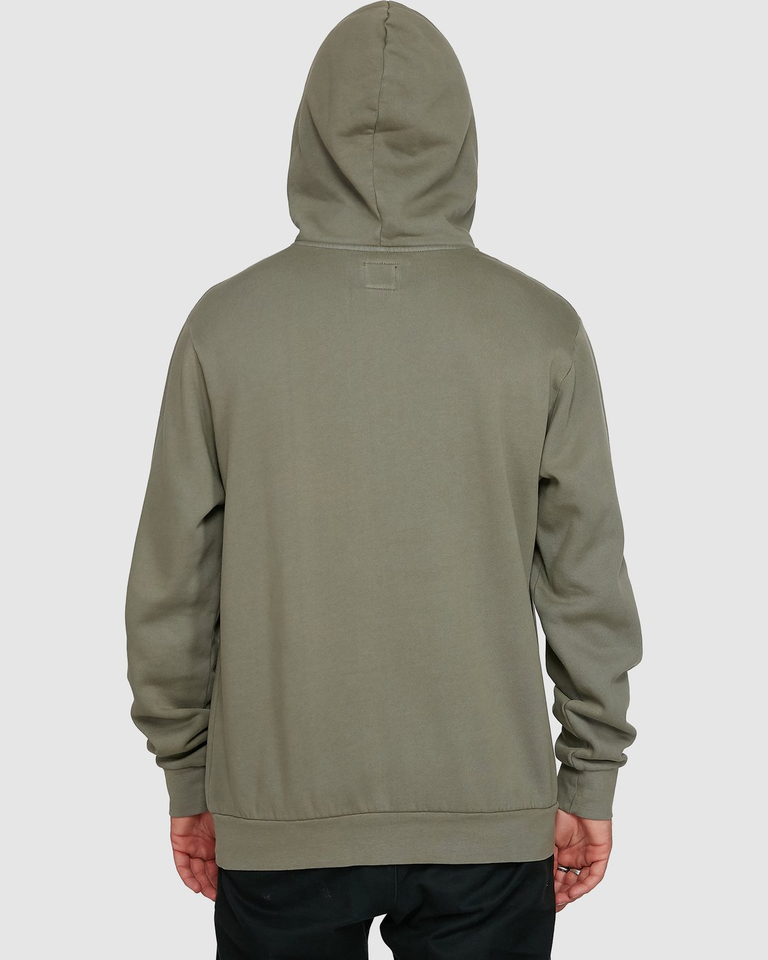 4 Rave Ball Pullover Hoodie Green R108153 RVCA