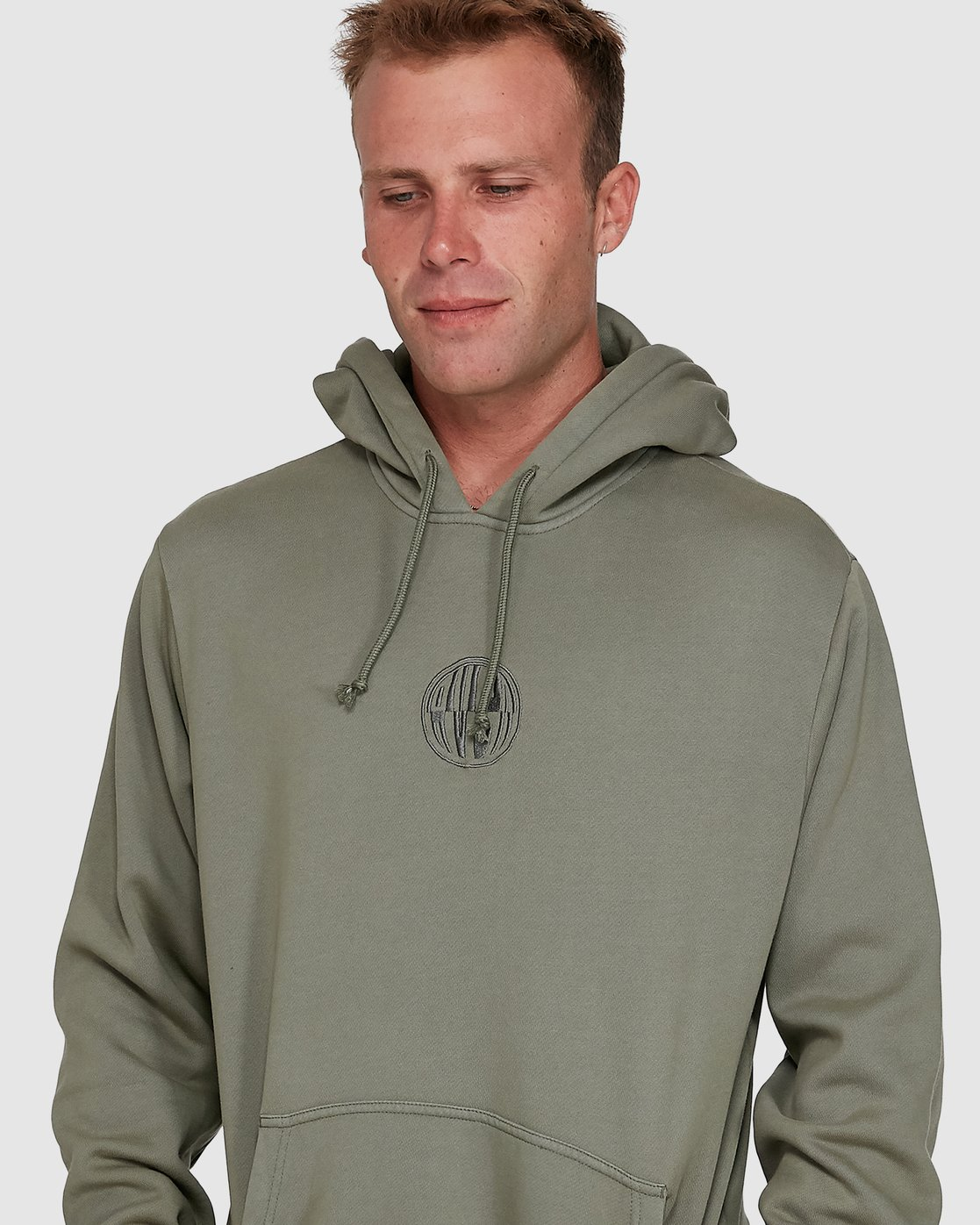 5 Rave Ball Pullover Hoodie Green R108153 RVCA