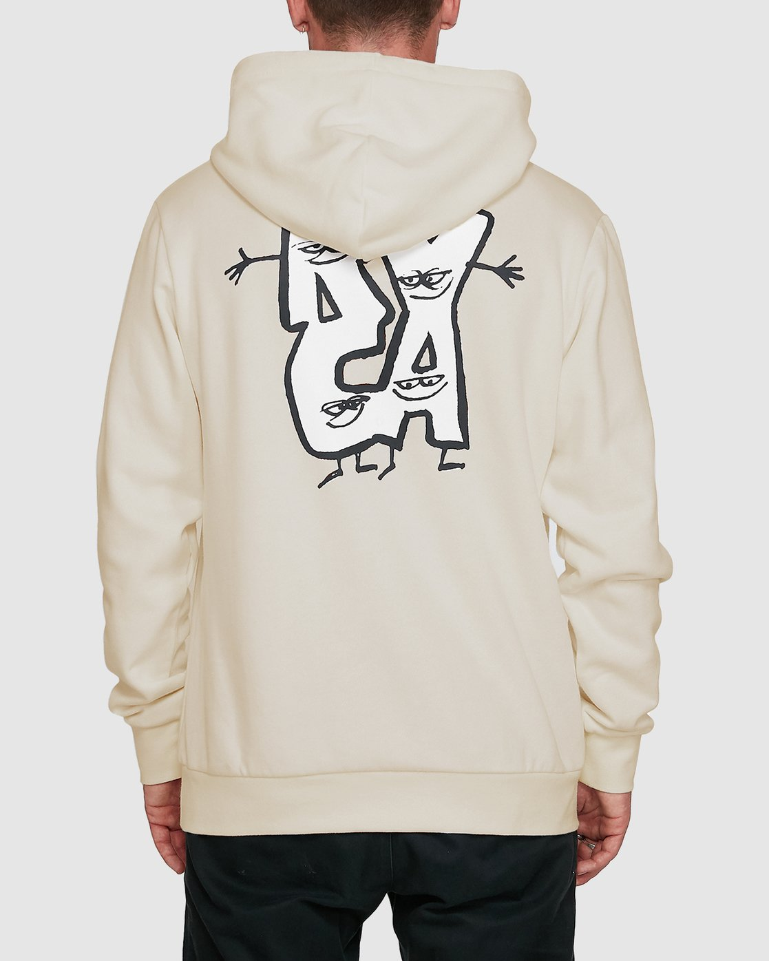 3 Dudes Pullover Hoodie  R108156 RVCA