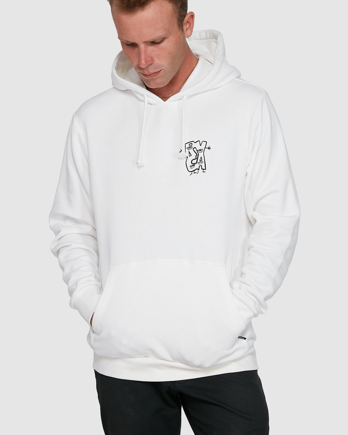 0 Dudes Pullover Hoodie  R108156 RVCA
