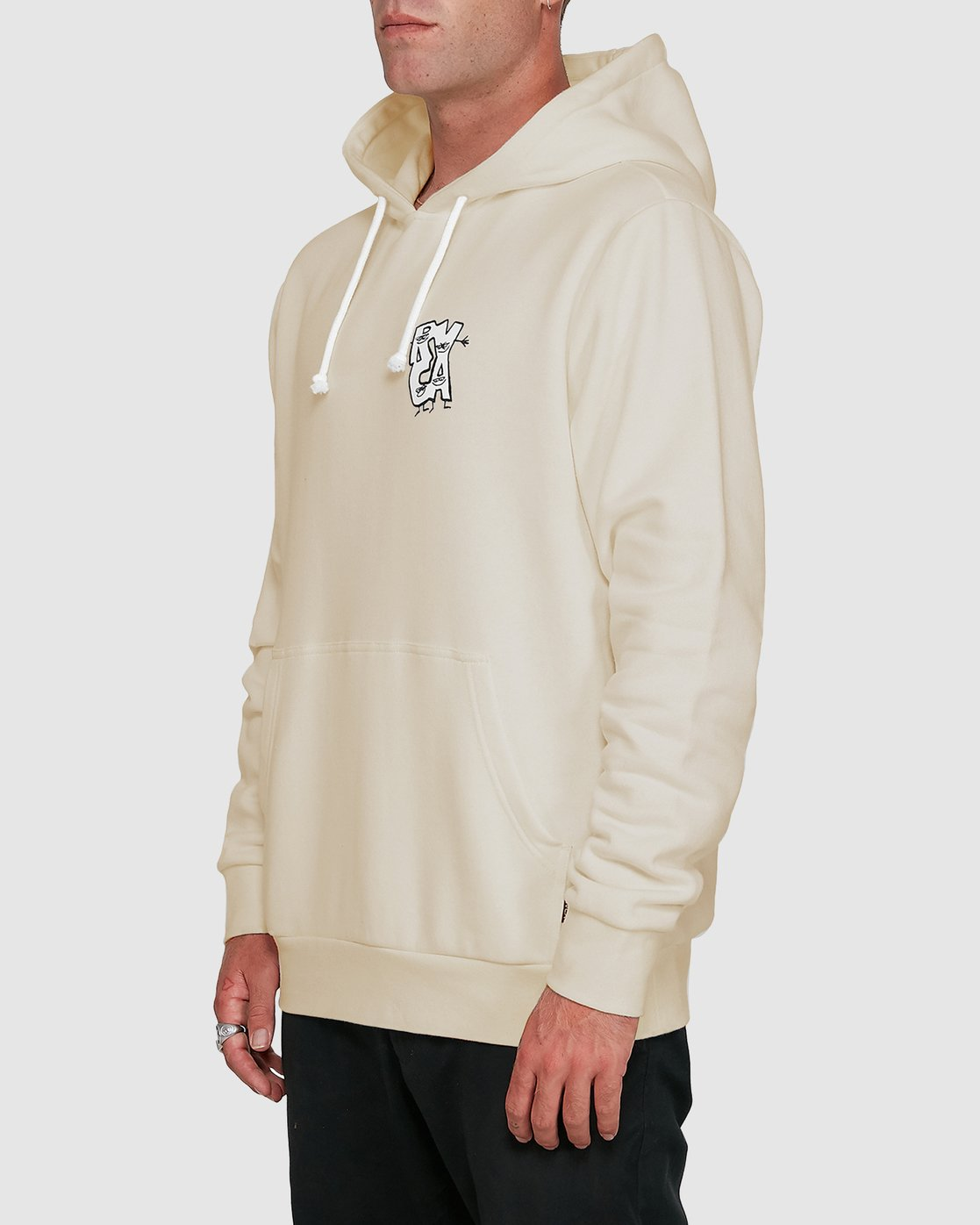 2 Dudes Pullover Hoodie  R108156 RVCA