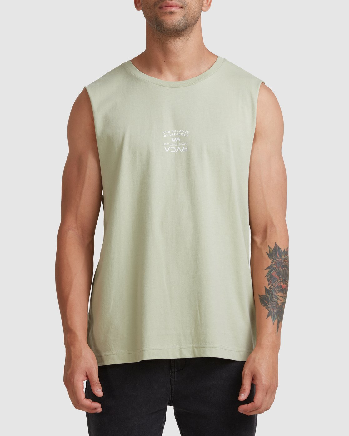 0 Bend It Like RVCA Muscle Green R117002 RVCA