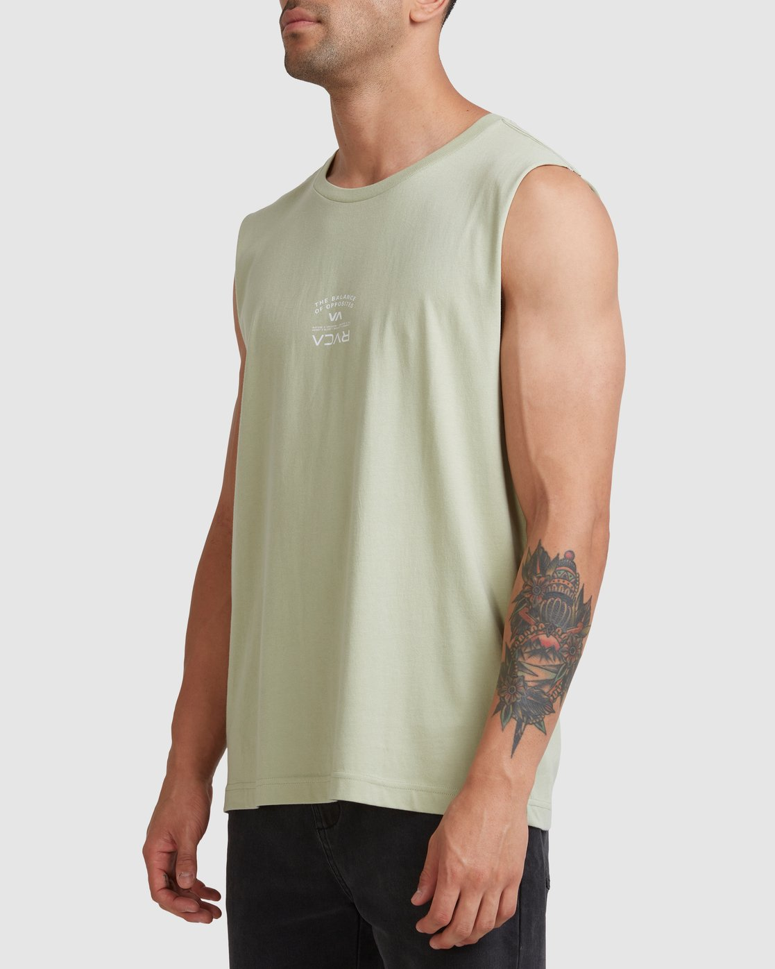 1 Bend It Like RVCA Muscle Green R117002 RVCA