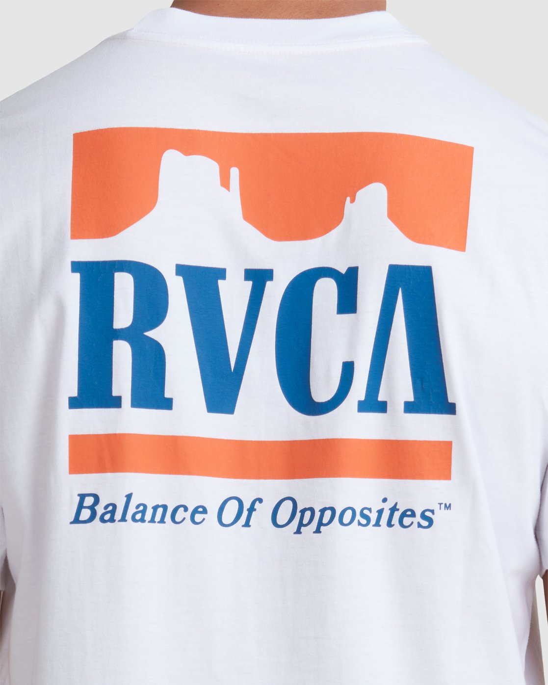3 PACKETS SHORT SLEEVE TEE White R117057 RVCA