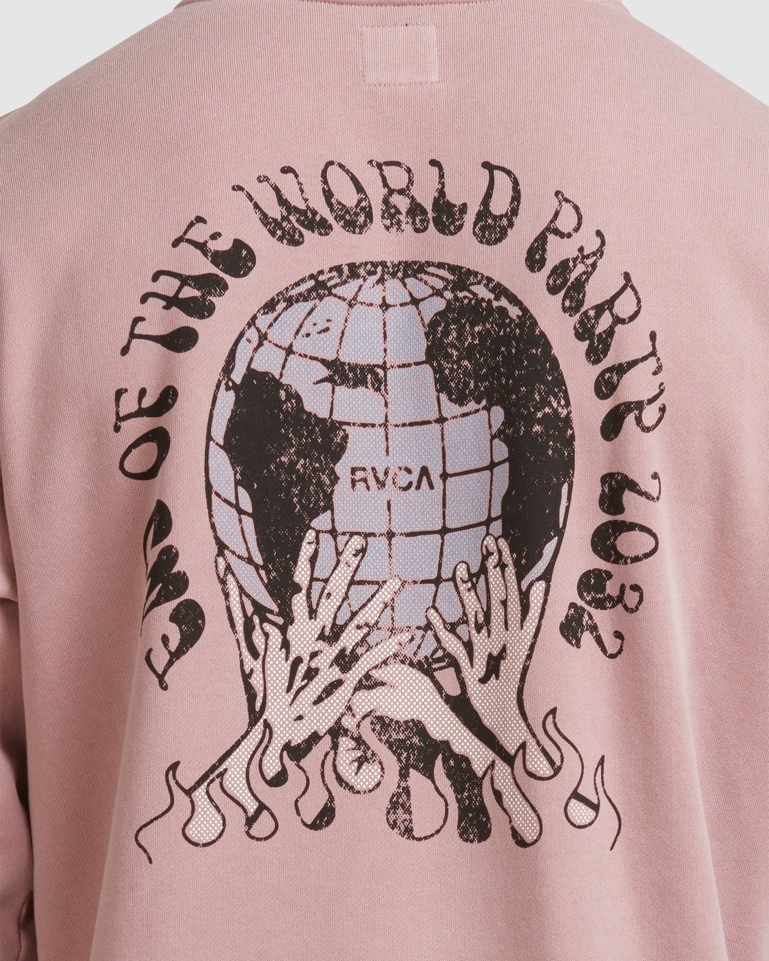2 WORLD PARTY HOODIE Purple R117153 RVCA