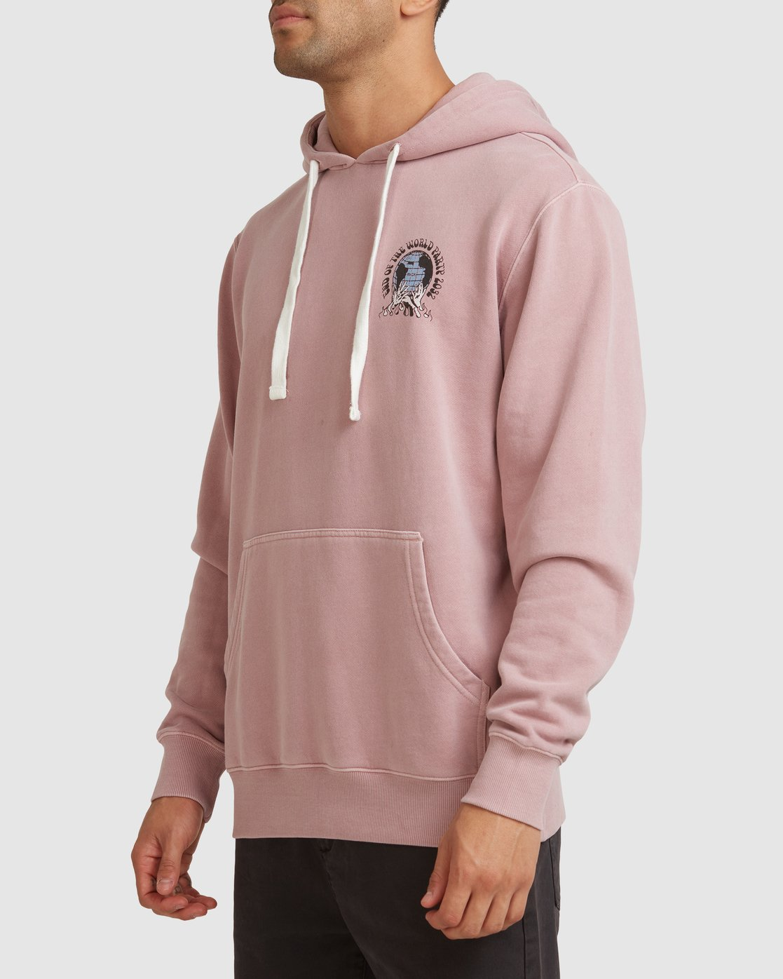 1 WORLD PARTY HOODIE Purple R117153 RVCA