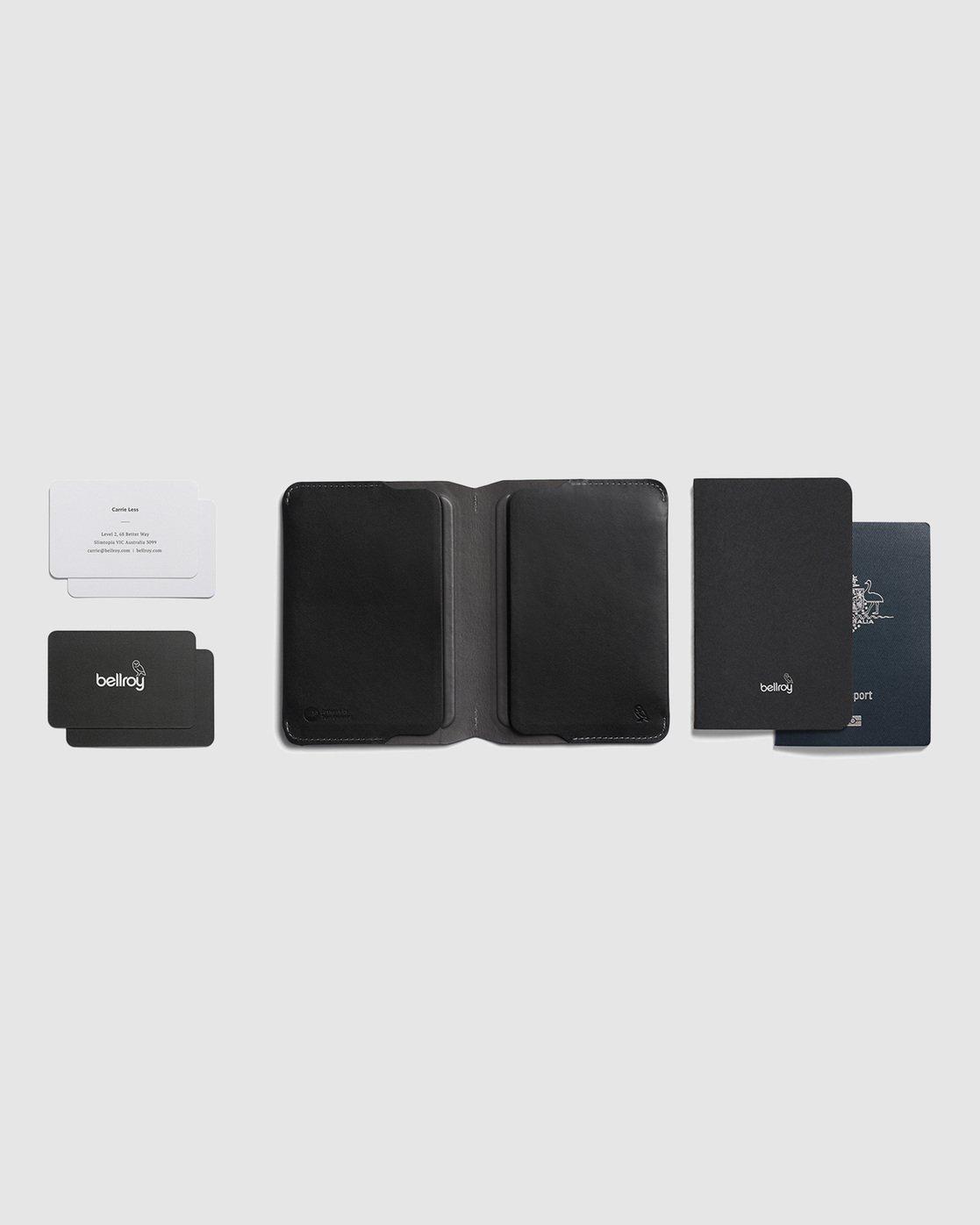4 Bellroy X RVCA  Notebook Cover Black R117601 RVCA