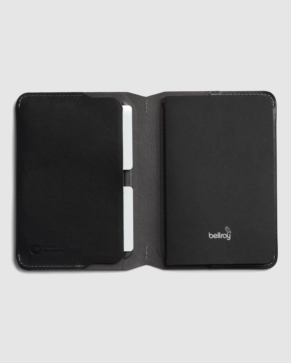 1 Bellroy X RVCA  Notebook Cover Black R117601 RVCA