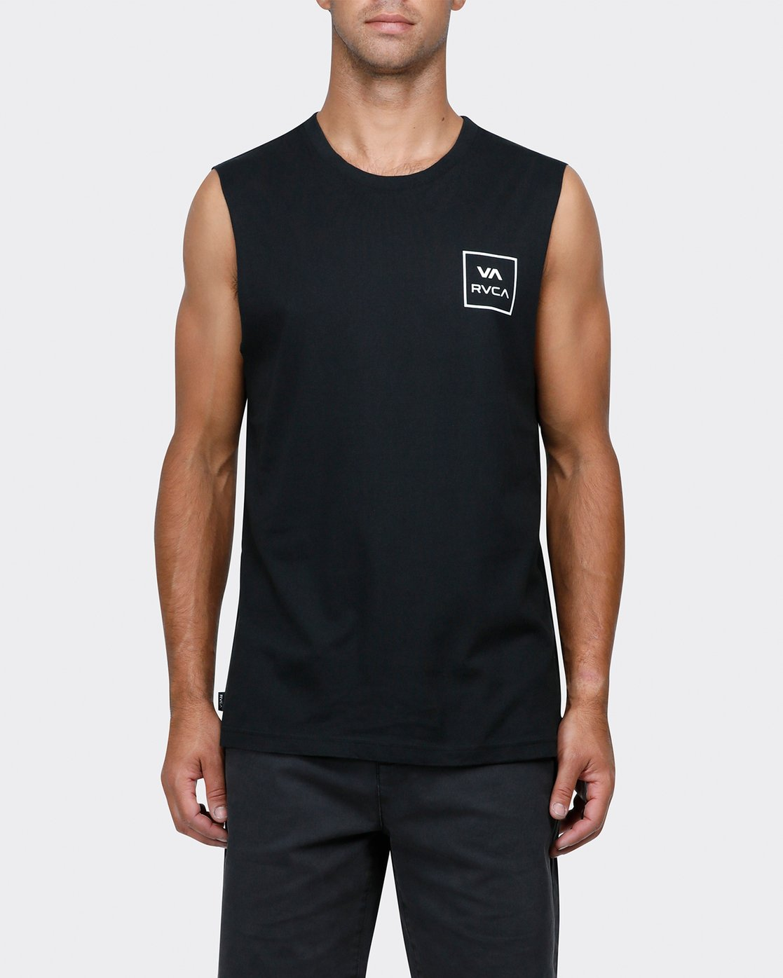 0 VA ALL THE WAY MUSCLE Black R151012 RVCA