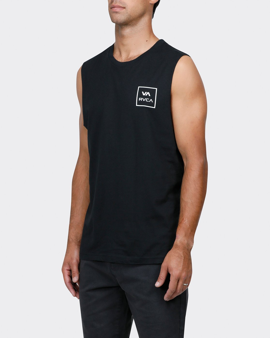 1 VA ALL THE WAY MUSCLE Black R151012 RVCA