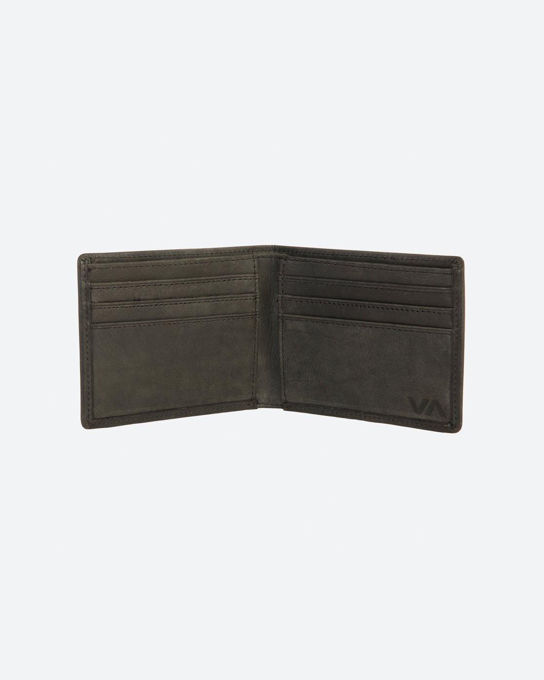 3 Boss Bi Fold Wallet  R171491 RVCA