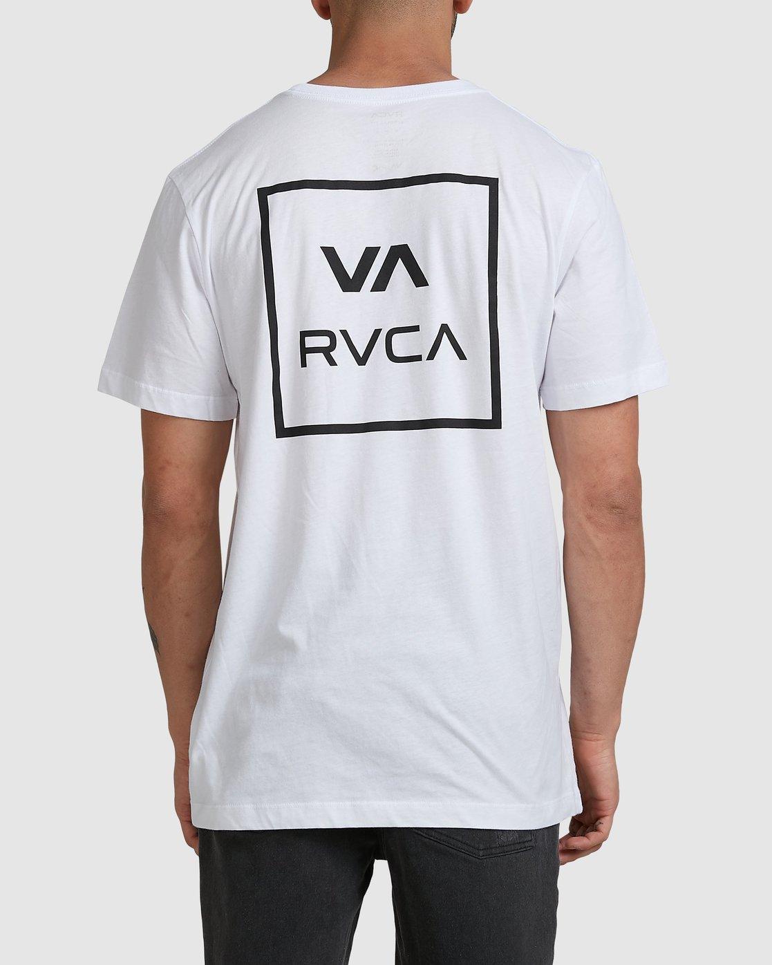 0 VA ALL THE WAYS SHORT SLEEVE TEE White R172062 RVCA
