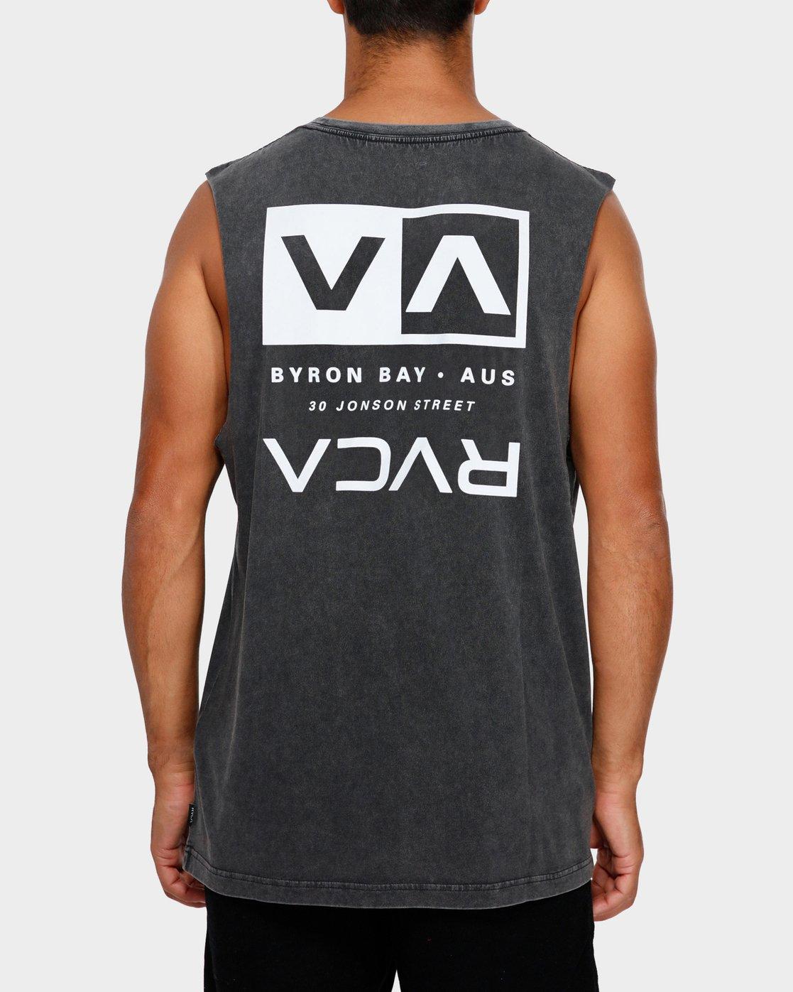 2 Byron Address Muscle Black R172133 RVCA